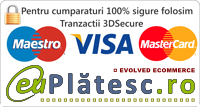 online credit card donations through euplatesc.ro gateway!